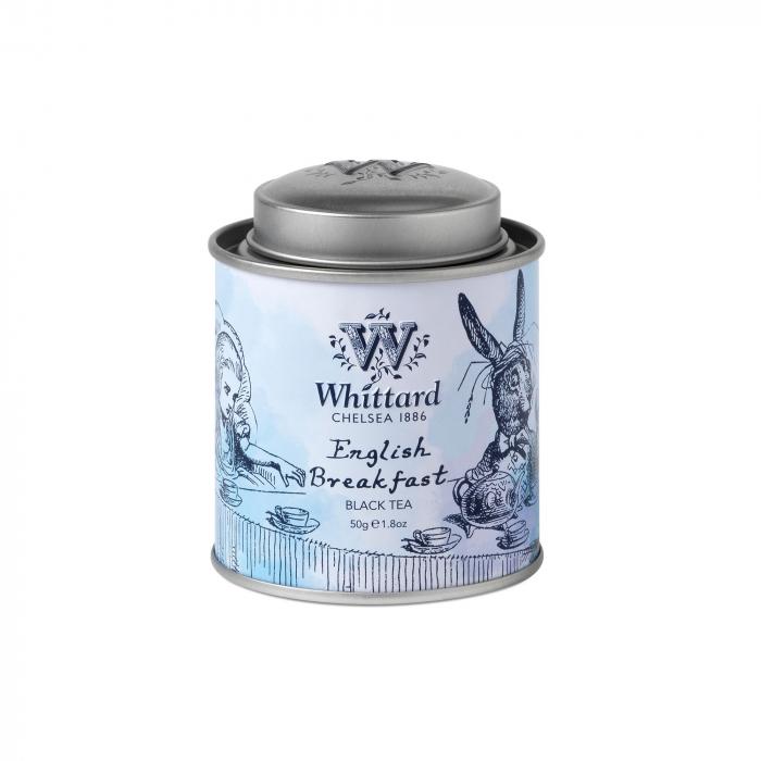 English Breakfast mini tin, colectia Alice in Wonderland 0