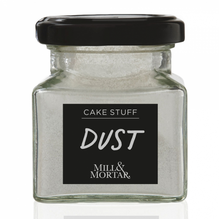 Pudra alimentara  pentru decorare prajituri, Dust Golden, Mill&Mortar 0