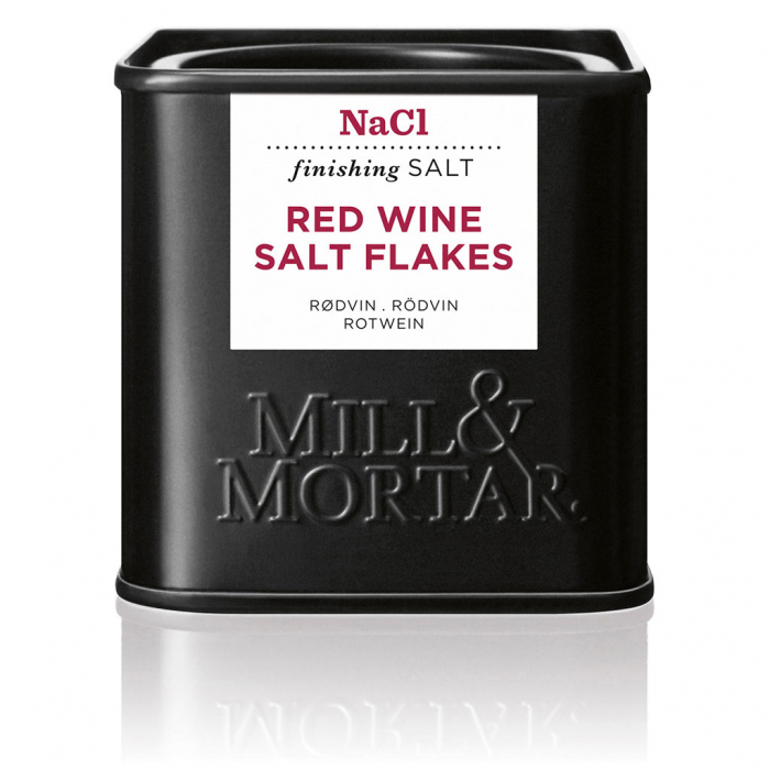 Red Wine Salt, Mill&Mortar, 80gr 0