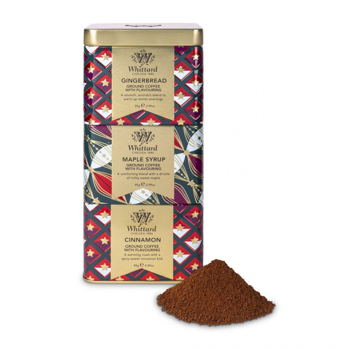 Set 3 cafele cu arome, Whittard of Chelsea, 85 gr x3 [0]