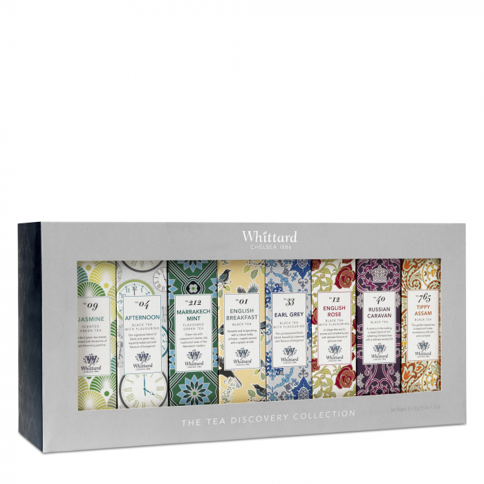 Set ceaiuri Tea Discovery Collection, pliculete, Whittard of Chelsea 0