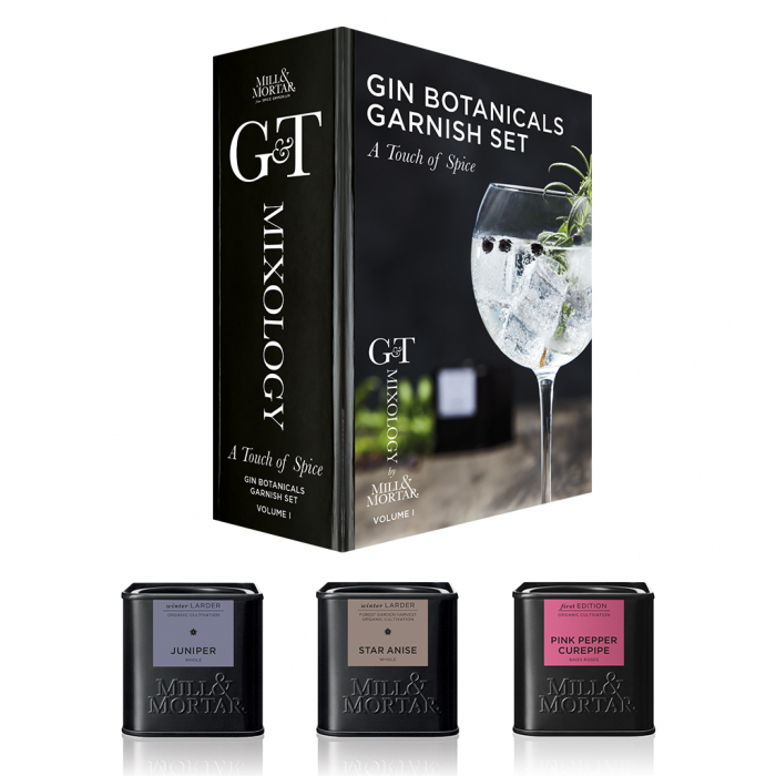 Set mirodenii pentru gin, A touch of spice, Mixology, Mill&Mortar, vol. 1 0
