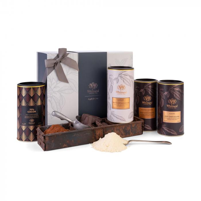 Set cadou ce include patru tipuri de ciocolata calda, Whittard of Chelsea. 0