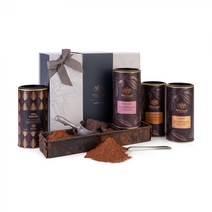 Set cadou cu patru tipuri de ciocolata calda, Whittard of Chelsea 0