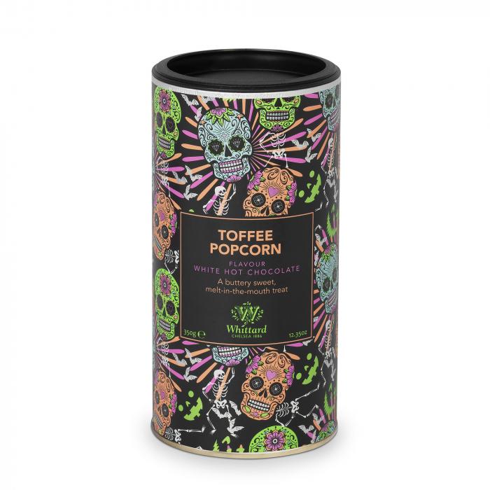 Toffee Popcorn Hot Chocolate, ciocolata alba in editie limitata, 350 gr., Whittard of Chelsea 0
