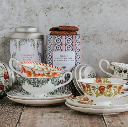 Ceasca cu farfurie din portelan, Mango& Bergamot, Tea Discoveries, Whittard of Chelsea2