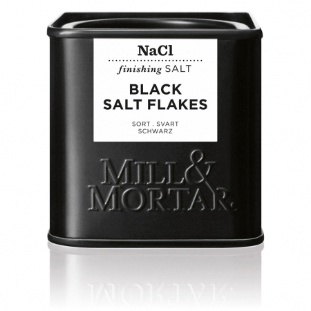 Black Flakesalt, organic, Mill&Mortar, 80 gr0