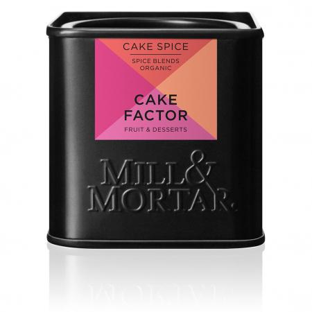 Mirodenii organice pentru prajituri, Cake Factor Dessert, Mill&Mortar, 50 gr0