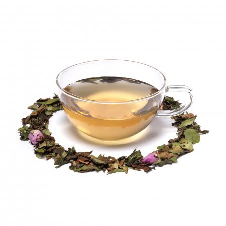 Ceai alb cu boboci de trandafir, Chelsea Garden, vrac, 50 gr [1]