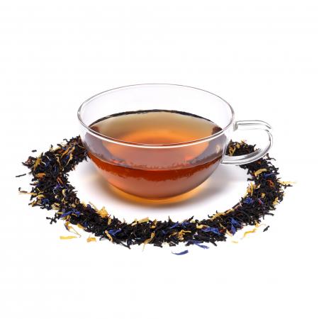Ceai negru cu sofran & aroma de piersica, Covent Garden, vrac, 50gr. [1]