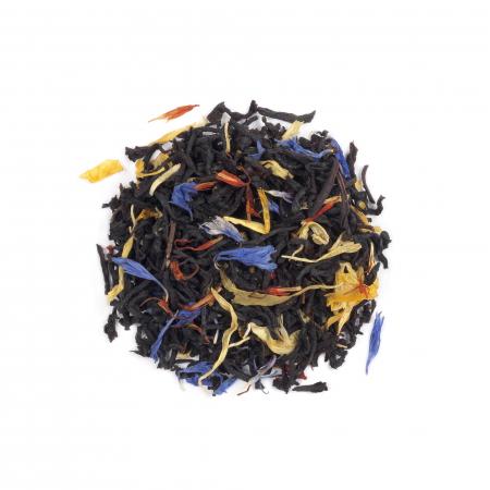 Ceai negru cu sofran & aroma de piersica, Covent Garden, vrac, 50gr. [0]