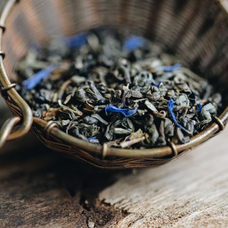 Ceai verde cu menta, Marrakech Mint, frunze, 100 gr., Whittard of Chelsea [1]