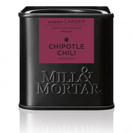 Chipotle Chilli granules, Mexic,  Mill&Mortar, 45gr0