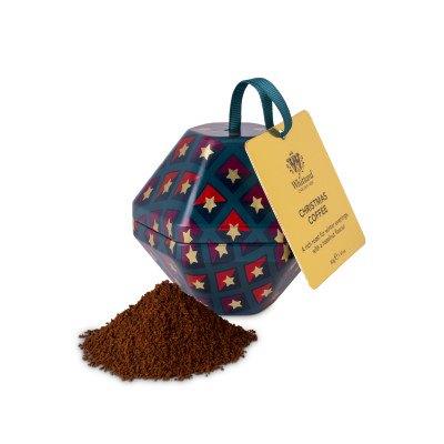 Christmas Coffee, ambalaj glob metalic, 40 gr. Whittard of Chelsea1