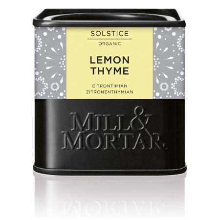 Cimbru aromat cu lamaie, Lemon Thyme, organic, 18gr, Mill&Mortar [0]