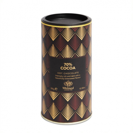 Ciocolata calda 70% cocoa, Whittard of Chelsea, 300 gr0