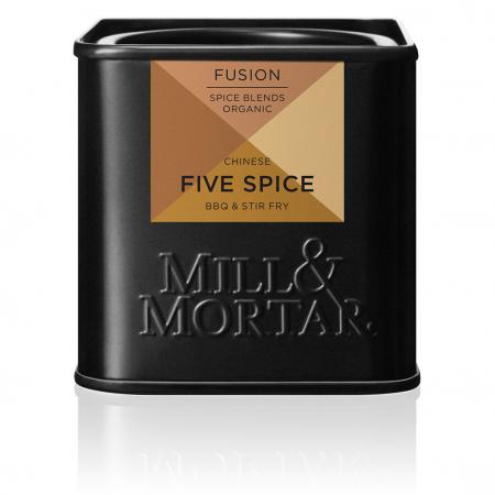 Five Spice, organic, Mill& Mortar, 50 gr [0]