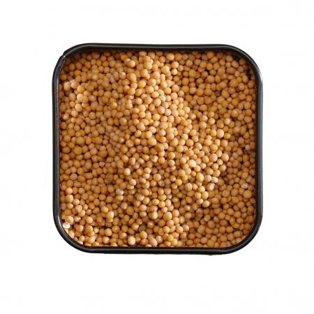 Seminte de mustar,  Mustard Seeds, Yellow, organic, Mill&Mortar, 70gr1