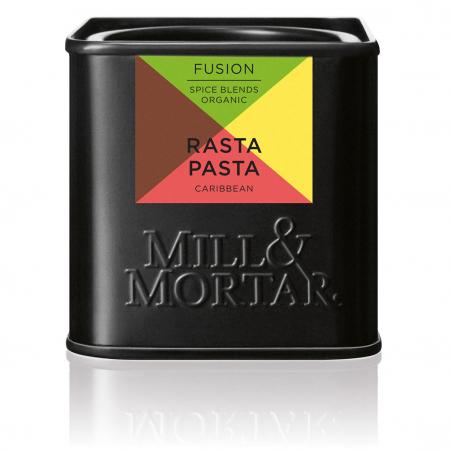 Rasta Pasta, organic, Mill&Mortar, 55 gr0