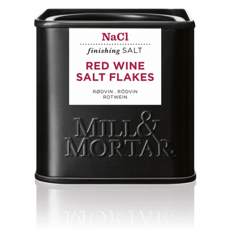 Red Wine Salt organic,  Mill&Mortar, 80gr0