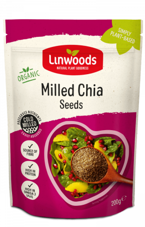 Seminte Chia organice, Linwoods, 200 gr [0]