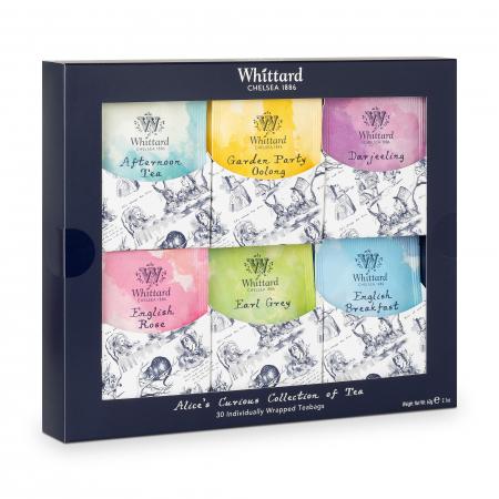 Set cadou ceai, colectia Alice in Wonderland0