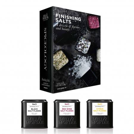 Set sare Finishing Salt, Mill&Mortar0