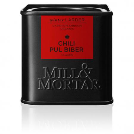 Pul biber chili flakes organic, Mill&Mortar, 45 gr0