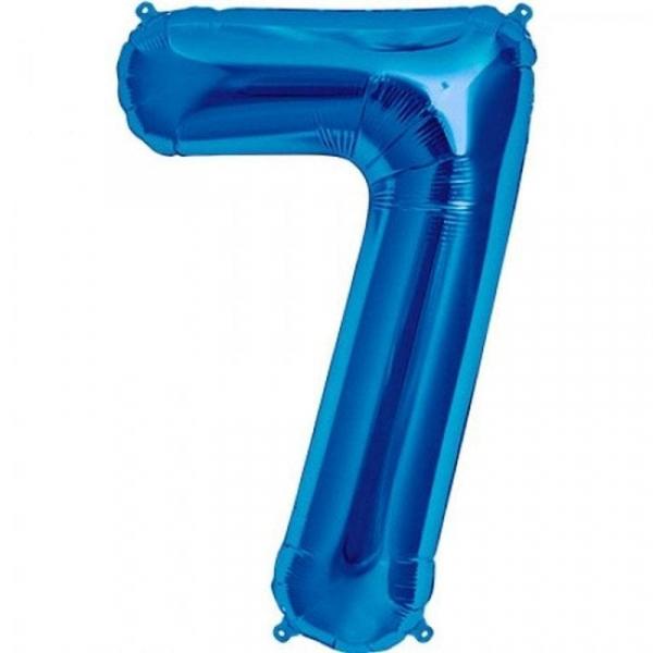 Balon folie cifra 7 [0]
