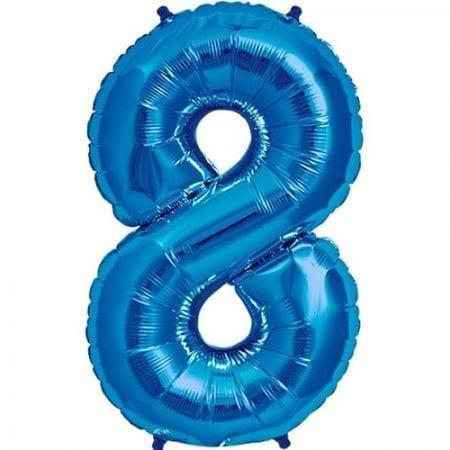 Balon folie cifra 8 [0]