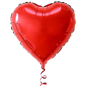 Balon folie inima [0]