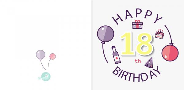 Felicitare 18 ani [1]