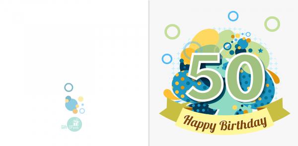Felicitare 50 ani 1
