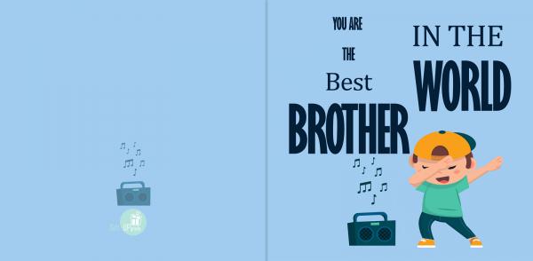 Felicitare Frate 1