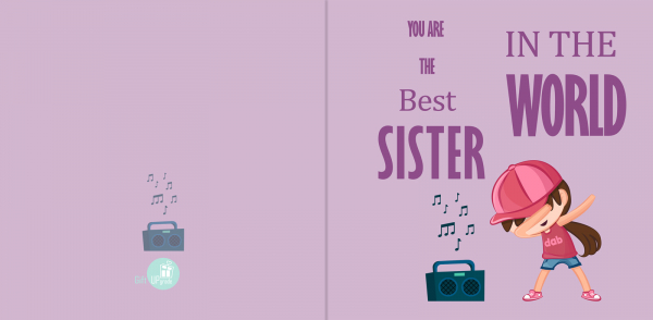 Felicitare Sora 1