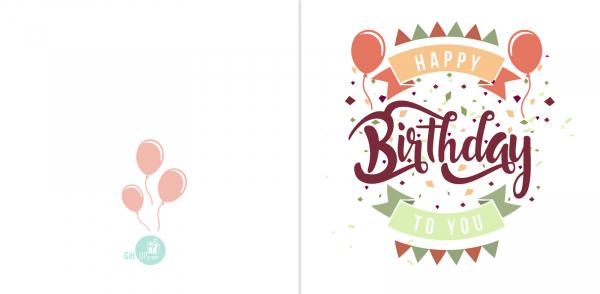 Happy Birthday Pastel 1