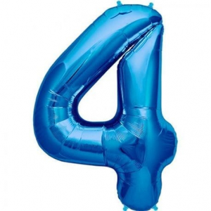 Balon folie cifra 4 [0]