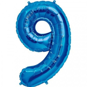 Balon folie cifra 9 [0]