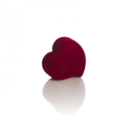 Cutie inima rosie de catifea mare [1]