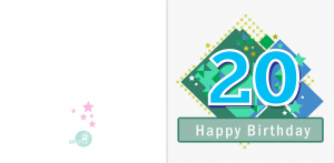 Felicitare 20 ani baiat1