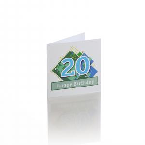 Felicitare 20 ani baiat0