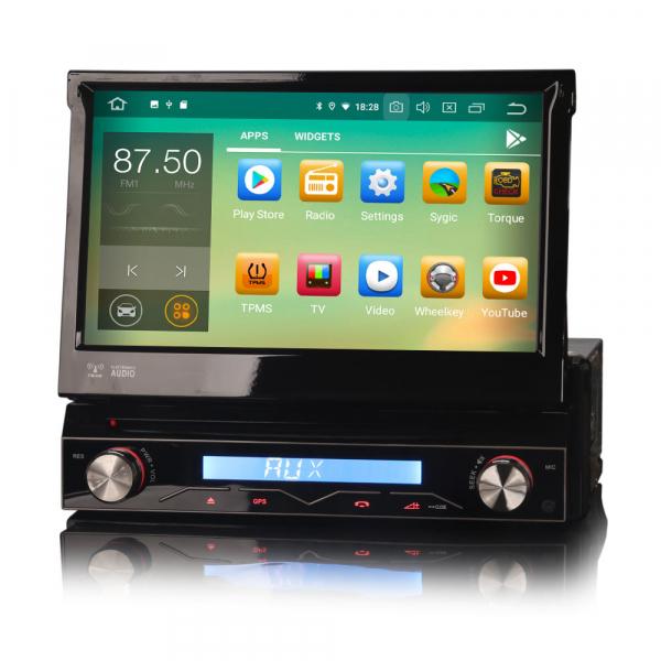Navigatie auto / Multimedia player auto 1DIN, ecran retractabil, Android 10.0, Quad-Core ,2Gb Ram. [1]