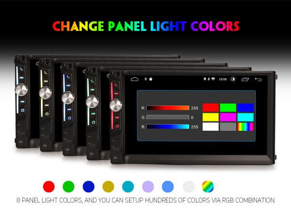 Multimedia player auto, 2 din universal,  Android 10.0 ,Quad core CPU, 2GB Ram; Camera marsarier si ObdII inclus 2
