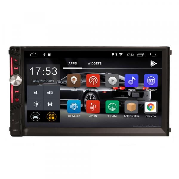 Multimedia player auto, 2 din universal,  Android 10.0 ,Quad core CPU, 2GB Ram; Camera marsarier si ObdII inclus 1