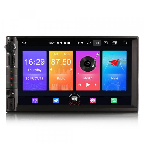 Navigatie auto universala 2DIN,(Nissan) 7 inch, Android 10.0, GPS, WIFI, DAB+, 2GB RAM, 16GB memorie interna 0