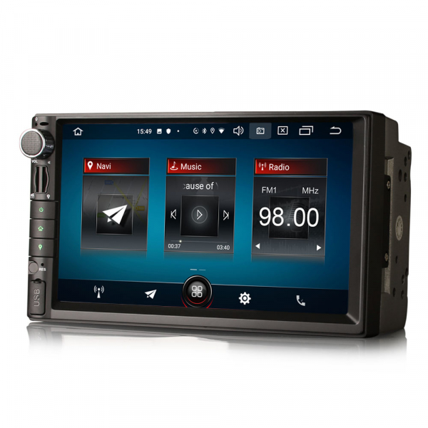 Navigatie auto universala 2DIN,(Nissan) 7 inch, Android 10.0, GPS, WIFI, DAB+, 2GB RAM, 16GB memorie interna 1