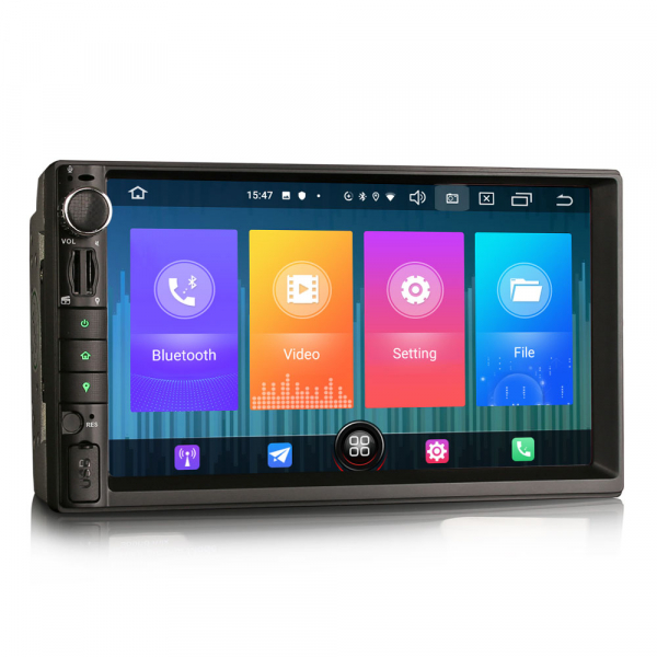 Navigatie auto universala 2DIN,(Nissan) 7 inch, Android 10.0, GPS, WIFI, DAB+, 2GB RAM, 16GB memorie interna 4