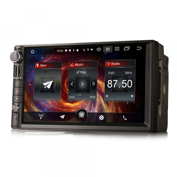Navigatie auto universala 2DIN,(Nissan) 7 inch, Android 10.0, GPS, WIFI, DAB+, 2GB RAM, 16GB memorie interna 5
