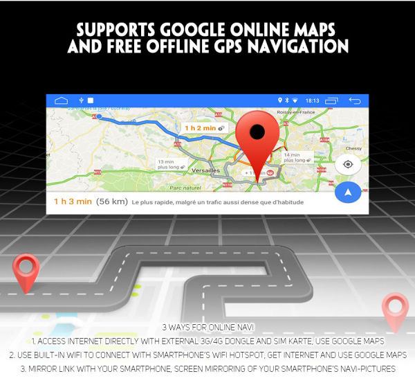 Navigatie auto, Pachet dedicat BMW, Android 10, GPS, WIFI,DAB+, 2GB RAM, 16GB memorie interna 4