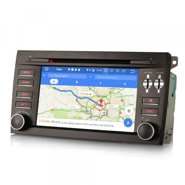 Navigatie auto, Pachet dedicat Porsche Cayenne,7 inch, Android 10, GPS, WIFI, DAB+, 2GB RAM, 16GB memorie interna [3]